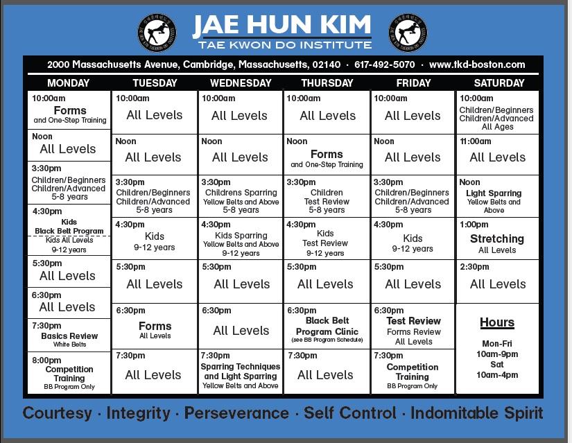 News | Jae H  Kim Tae Kwon Do – Cambridge